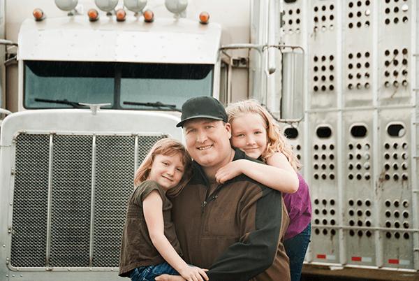 trucker-family