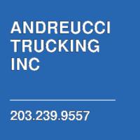 ANDREUCCI TRUCKING INC