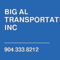 BIG AL TRANSPORTATION INC
