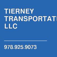 TIERNEY TRANSPORTATION LLC