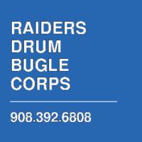 RAIDERS DRUM  BUGLE CORPS