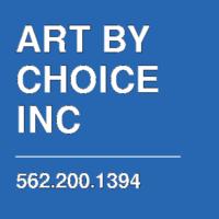 ART BY CHOICE INC