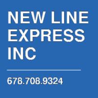 NEW LINE EXPRESS INC