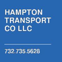 HAMPTON TRANSPORT CO LLC