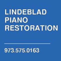 LINDEBLAD PIANO RESTORATION