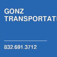 GONZ TRANSPORTATION