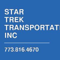 STAR TREK TRANSPORTATION INC