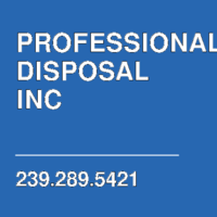 PROFESSIONAL DISPOSAL INC