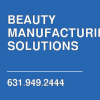 BEAUTY MANUFACTURING SOLUTIONS