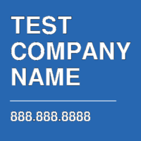 TEST COMPANY NAME
