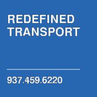 REDEFINED TRANSPORT