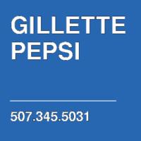 GILLETTE PEPSI