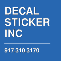 DECAL STICKER INC