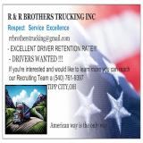 R  R BROTHERS TRUCKING INC