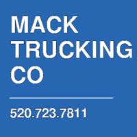 MACK TRUCKING CO