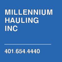 MILLENNIUM HAULING INC