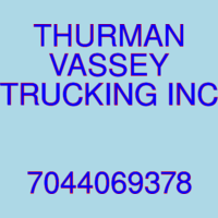 THURMAN VASSEY TRUCKING INC