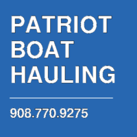 PATRIOT BOAT HAULING