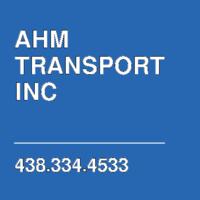 AHM TRANSPORT INC