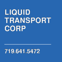 LIQUID TRANSPORT CORP