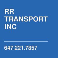 RR TRANSPORT INC