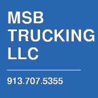 MSB TRUCKING LLC