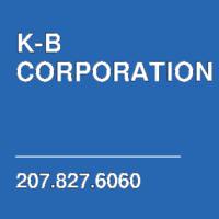 K-B CORPORATION