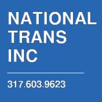 NATIONAL TRANS INC