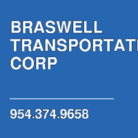 BRASWELL TRANSPORTATION CORP