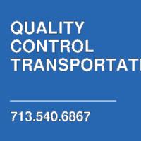 QUALITY CONTROL TRANSPORTATION