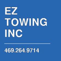 EZ TOWING INC