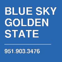 BLUE SKY GOLDEN STATE
