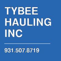 TYBEE HAULING INC