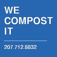 WE COMPOST IT