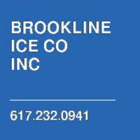 BROOKLINE ICE CO INC