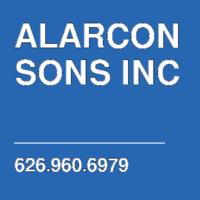 ALARCON SONS INC