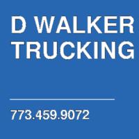 D WALKER TRUCKING